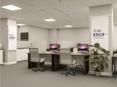 KOICA-Work-Station-1
