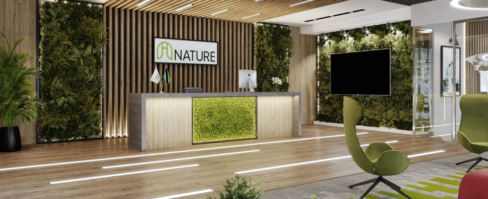 nature office design dar es salaam